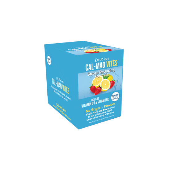 Cal-Mag Vites - Strawberry & Lemon (30 Packets) (Dr. Price) by Vitanord.eu