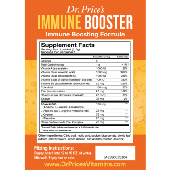 Immune Booster (30 Packets) (Dr. Price) by Vitanord.eu