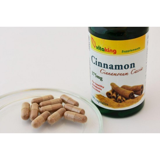 Cinnamon 375 mg (90 tablets) (Vitaking) by Vitanord.eu