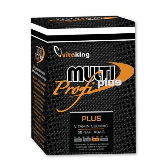 Multi Plus Pro, Daily Vitality Pack (30 Servings) (Vitaking) by Vitanord.eu