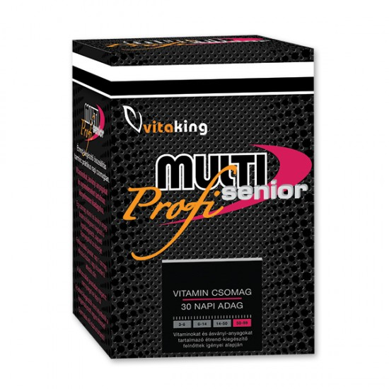 Multi Senior Pro – Daily Vitality Pack (30 Servings) (Vitaking) by Vitanord.eu