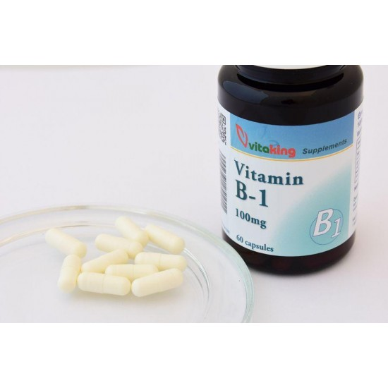 Vitamin B1 100mg (60 capsules) (Vitaking) by Vitanord.eu